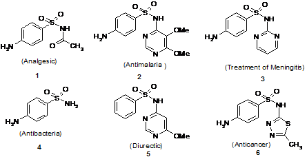 Synthesis of Medicinally Relevant Phenyl Sulphonylamino Alkanamides and N-aryl P-toluenesulphonamides