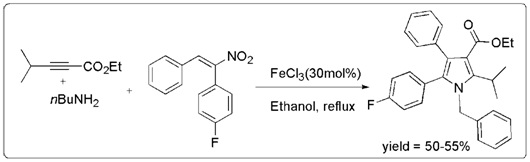 A Journey Towards FeCl3 Catalysed Synthesis of Multisubstituted Pyrrole